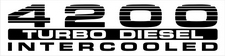 landcruiser turbo intercooler 4200