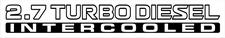 patrol 27 turbo diesel intercooled