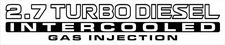 patrol 30 turbo diesel intercooled