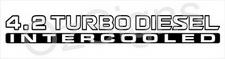 patrol 42 turbo diesel intercooled